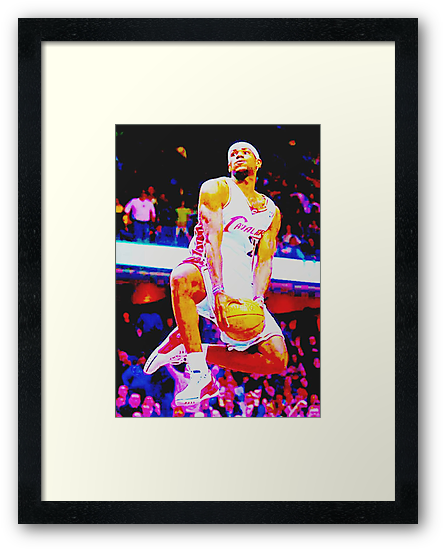 lebron james by KEITH  R. WILLIAMS