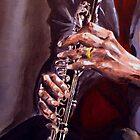 Jazz Player by Dave Lechko