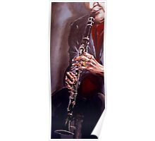 Jazz Player Poster