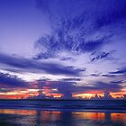 Wet Season Sunset - Mindl beach, Darwin by graphicscapes