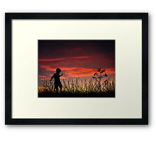 The Beginning of a Journey Framed Print