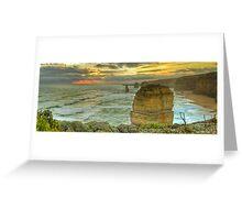 Great Ocean Road: Twelve Apostles Greeting Card