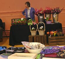 FLORIST AT THE CRAFT FAIR by Rosetta Jallow