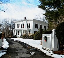 Federal Style Home Fitchburg MA by Rebecca Bryson