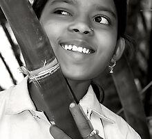 The Village Girl by Mukesh Srivastava