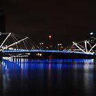 Walk Bridge - Melbourne by Debbie Thatcher