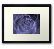 A Blue Rose for a Blue Lady- JUSTART  ©  Framed Print
