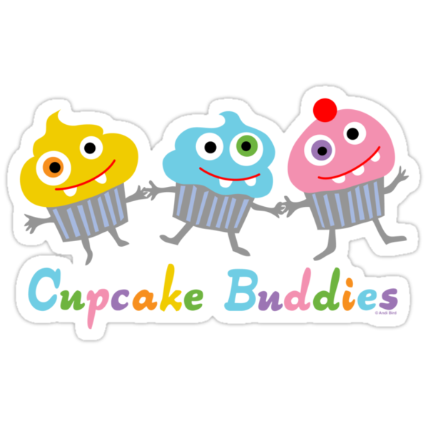 Cupcake Buddies by Andi Bird