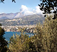 The hills above Sorrento by Shaun Whiteman