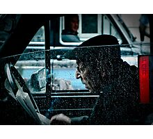 the taxi driver Photographic Print