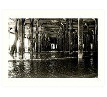 Under the Pier (Clacton) Art Print