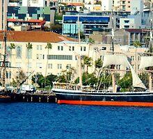 Sailing San Diego by michardson