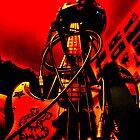 Bass in yo' face (Red) by Luke Stevens