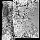 Body Maps - Boston Coast - Torso, Leg, Arm by MaggieGrace