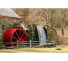 New England Grist Mill I Photographic Print