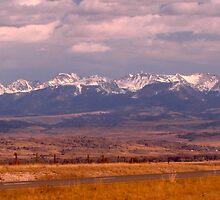 Mountain Range by ZombieEnnui