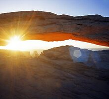 Mesa Arch Sunburst by Mike Norton