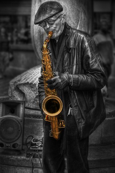 Sax Love by Yhun Suarez