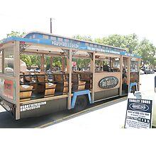 Albuquerque City Tour Trolley. Photographic Print