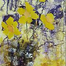 Calendar of flower paintings Pauline style by © Pauline Wherrell