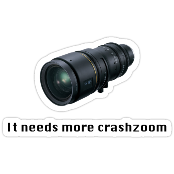 Crashzoom! It needs more! by Mitch Keane