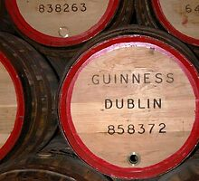 Barrels of Guinness in Dublin by MikeyLee