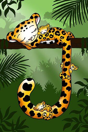 Jaguar in the Jungle by Joozu