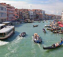 Canale Grande, Venezia by Ann Garrett