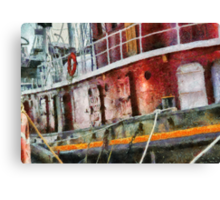 NY - Lil' Tugboat Canvas Print