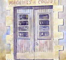 Old shop doorway, Javerlhac, France by ian osborne