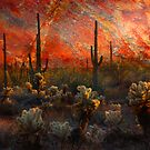 Desert Burn by Barbara Manis