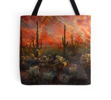 Desert Burn Tote Bag