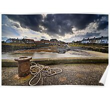 Craster Harbour - Northumberland Coast Poster