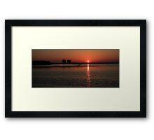 Early Morning Over Estero Bay Framed Print