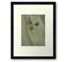 the girl in the wood (resemblance) Framed Print