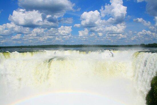 Devils Throat - Iguazu Falls by David McGilchrist