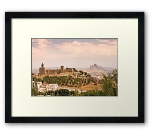 Antequera, Andalucia, Spain Framed Print