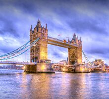 Tower Bridge in London, England by Chad Kruger