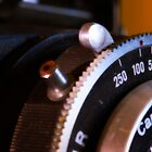 macro of Beltica lens and shutter  by Andrew Jones