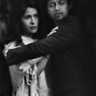 Couple in Hosier Lane by Andrew  Makowiecki