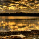 Liquid Gold - Narrabeen Lakes, Sydney - The HDR Experience by Philip Johnson