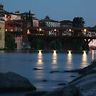 The Covered Bridge to Bassano Del Grappa by middleofaplace