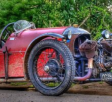 Ye Olde 3 Wheeled Car by Luke Stevens