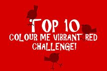 Top 10 Colour Me Vibrant Red Banner by Aimee-Ellen