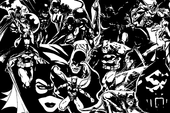 """""""HEROES & VILLAINS."""" by Gareth Worrall"""