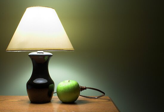 Apple Lamp by Rob Byron