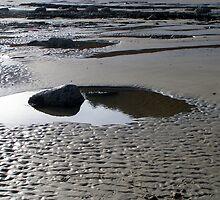 Zen feeling on beach by patjila