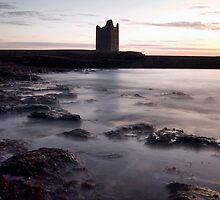 Easkey castle by Derek Orourke