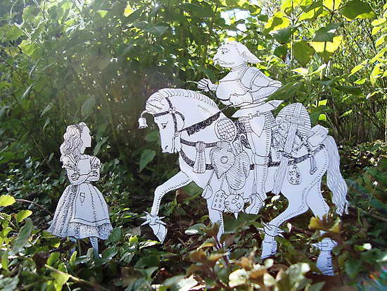 Alice and the White Knight by SusanSanford