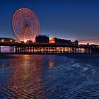 Blackpool Central Pier at Night by Stuart1882
